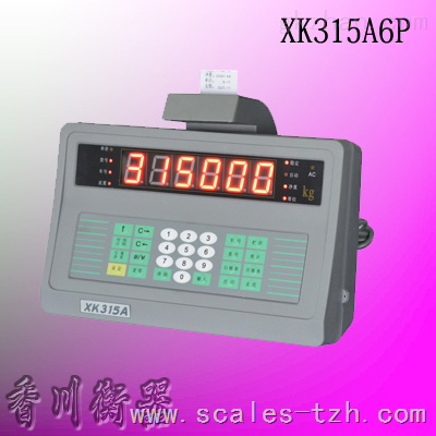 XK315A6P打印称重仪表