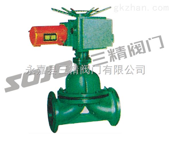 电动衬胶隔膜阀,电动隔膜阀