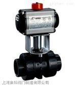 Q611F-10S\PVC蒸汽气动塑料球阀
