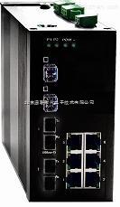 8个百兆电口千兆网管冗余型工业交换机