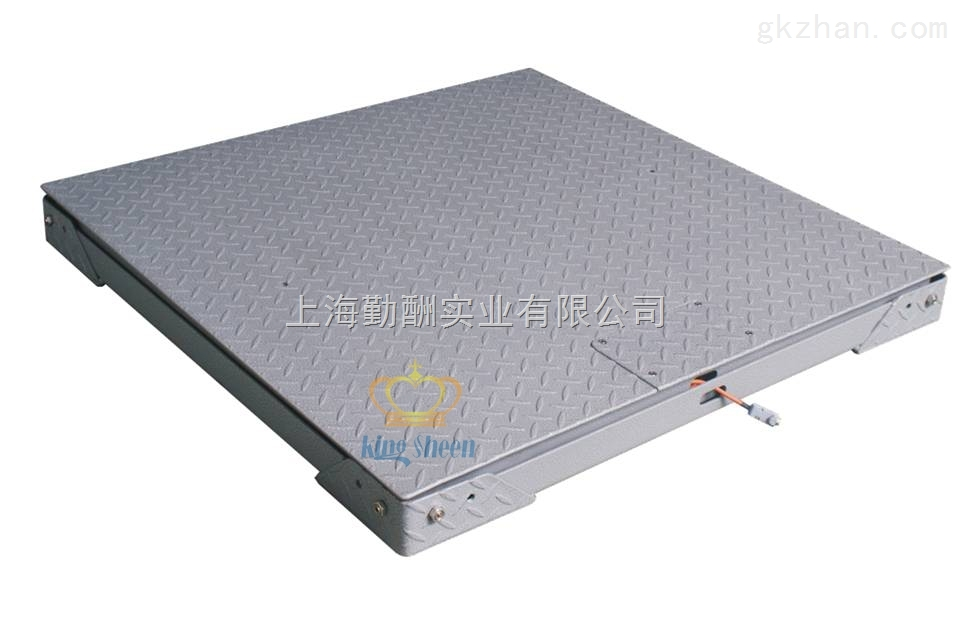 0.5T/1T/2T碳钢双层防爆电子地磅