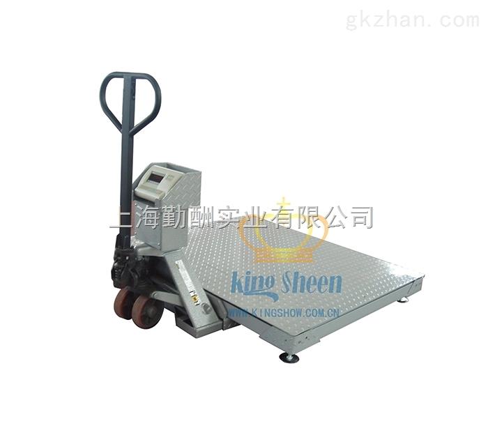 带打印地磅秤-液压搬运移动平台秤