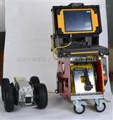 移动便携式管道内窥检测爬行机器人