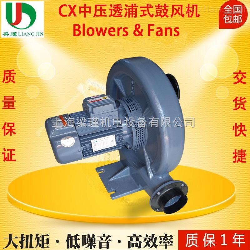 *批发CX-75透浦式0.75KW中压鼓风机价格报价