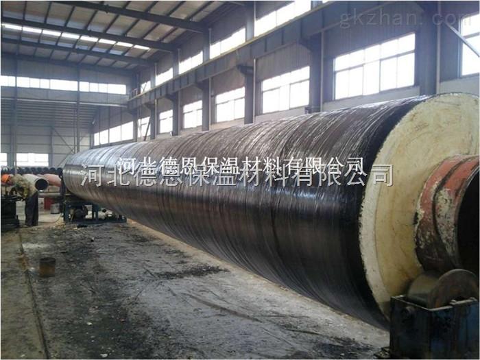 江苏聚氨酯发泡塑套钢保温管道加工过程