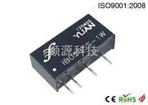 IB S/D-xW系列. 单路输出稳压有自恢复过载短路保护模块电源.