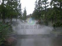 贺州游乐园/游乐场排队通道喷雾降温设备厂家/喷雾降温智能控制系统