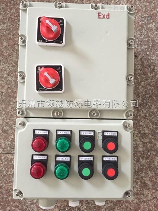 高速搅拌机防爆动力配电箱