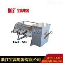 浙江宝高10KV六氟化硫户外柱上断路器LW3-12