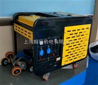 高温天造成停电用小型柴油发电机