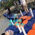 水上塑料浮台搭建 慈溪厂家大批量生产