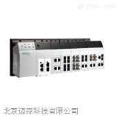 moxa导轨式网管型工业级智能以太网交换机