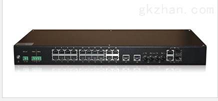 机架式非网管型工业以太网交换机MS24AC-G系列