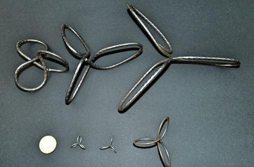 用于3D打印建筑的网状钢纤维填充物