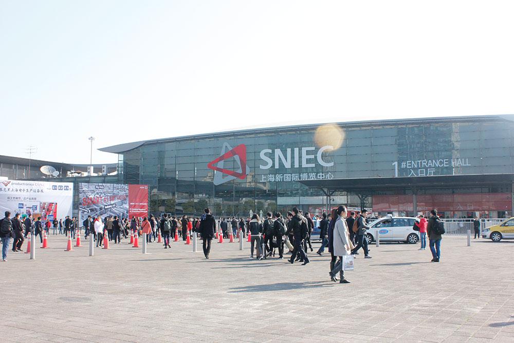 直击2017慕尼黑上海电子设备展