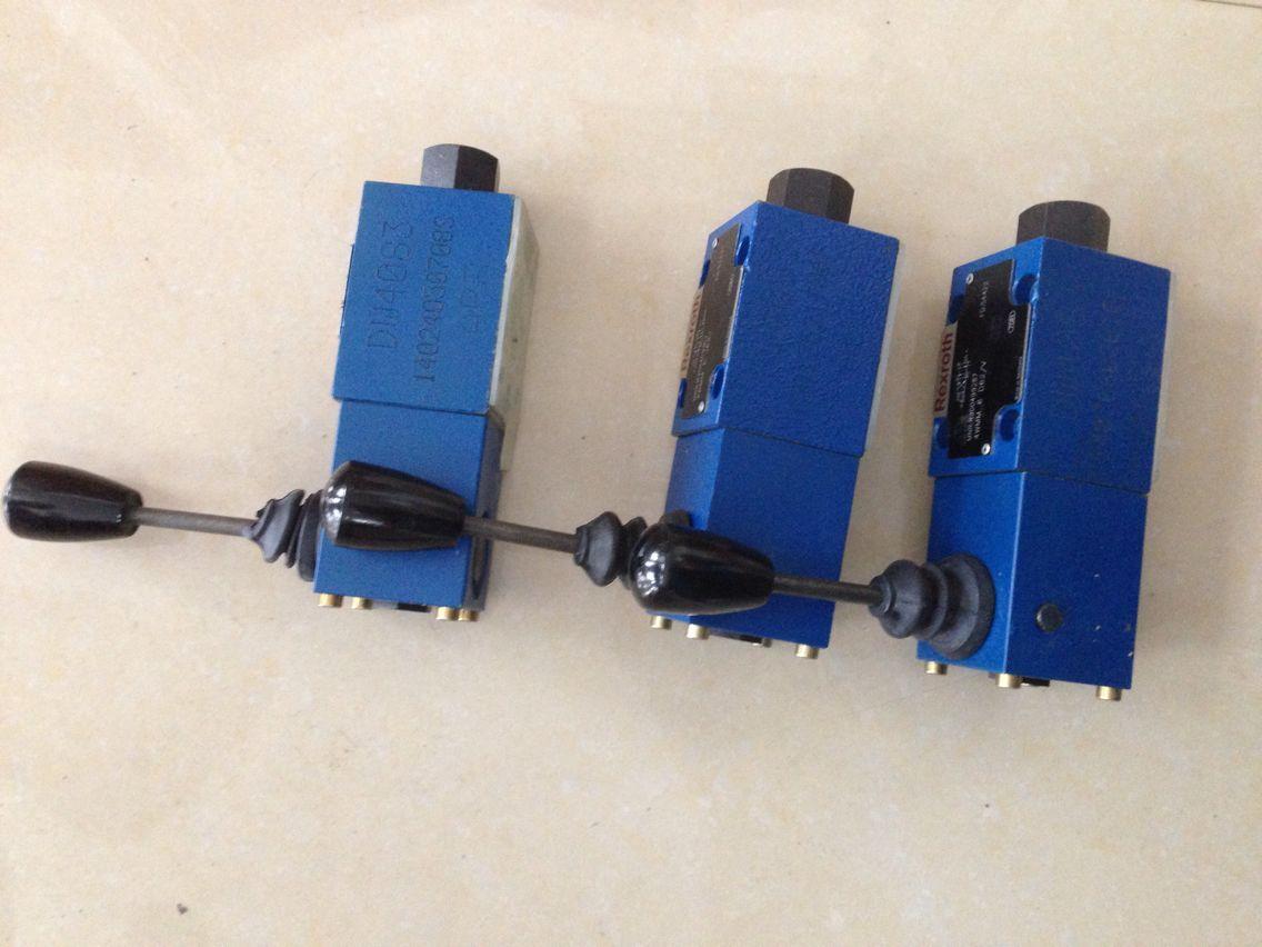 德国力士乐电磁阀4wmm 6 d62/v手动换向阀图片