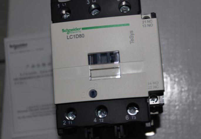 施耐德接触器lc1d80m7c