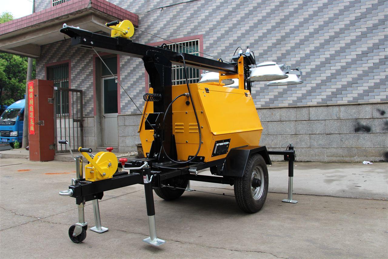 sfw6130(do) 应急移动照明车 本田发电机灯塔 强光升降灯