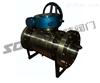 Q347F/H蜗轮锻钢固定球阀